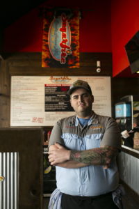 Sugarfire Wing Executive Chef Matt Gilckert at Winghaven, Fenton and Cedar Lake Cellars